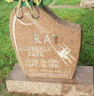RAY, KIMBERLY FAYE - Grayson County, Texas   KIMBERLY FAYE RAY - Texas Gravestone Photos