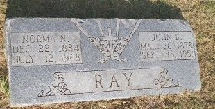 RAY, JOHN B. - Grayson County, Texas | JOHN B. RAY - Texas Gravestone Photos