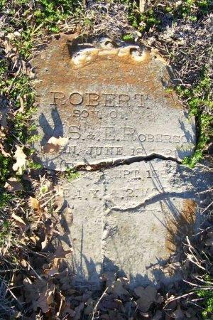 ROBERSON, ROBERT - Grayson County, Texas   ROBERT ROBERSON - Texas Gravestone Photos