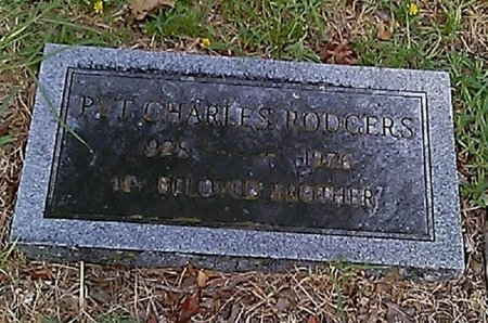 RODGERS (VETERAN), CHARLES RALPH - Grayson County, Texas | CHARLES RALPH RODGERS (VETERAN) - Texas Gravestone Photos