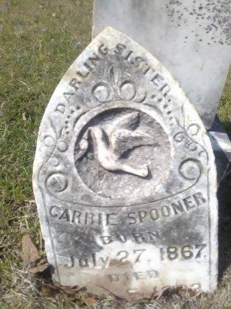 SPOONER, CARRIE - Grayson County, Texas | CARRIE SPOONER - Texas Gravestone Photos