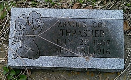 THRASHER, ARNOLD COE - Grayson County, Texas | ARNOLD COE THRASHER - Texas Gravestone Photos