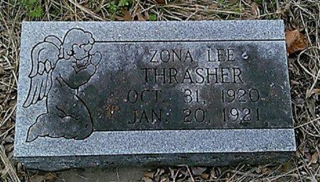 THRASHER, ZONA LEE - Grayson County, Texas | ZONA LEE THRASHER - Texas Gravestone Photos