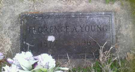 YOUNG, FLORENCE A. - Grayson County, Texas | FLORENCE A. YOUNG - Texas Gravestone Photos