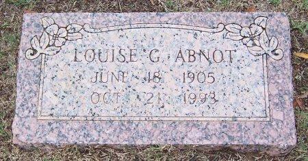 ABNOT, LOUISE G. - Gregg County, Texas | LOUISE G. ABNOT - Texas Gravestone Photos