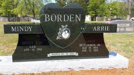 BORDEN, JR, ARRIE BENJAMIN - Gregg County, Texas   ARRIE BENJAMIN BORDEN, JR - Texas Gravestone Photos