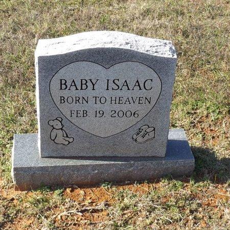 ISAAC, INFANT - Gregg County, Texas   INFANT ISAAC - Texas Gravestone Photos