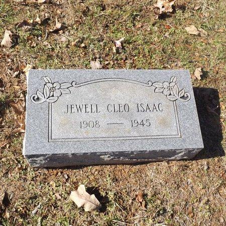 ISAAC, JEWEL CLEO - Gregg County, Texas   JEWEL CLEO ISAAC - Texas Gravestone Photos