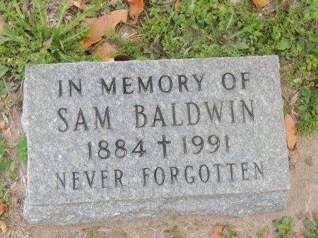 BALDWIN, SAM - Grimes County, Texas   SAM BALDWIN - Texas Gravestone Photos
