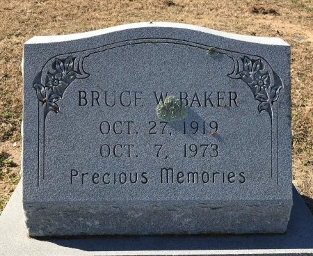 BAKER, BRUCE WARREN - Guadalupe County, Texas | BRUCE WARREN BAKER - Texas Gravestone Photos