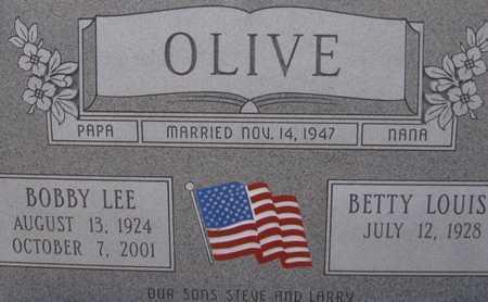 OLIVE, BOBBY LEE - Hale County, Texas | BOBBY LEE OLIVE - Texas Gravestone Photos