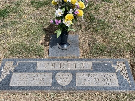 TRUITT, GEORGE BRYAN - Hale County, Texas | GEORGE BRYAN TRUITT - Texas Gravestone Photos