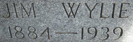 WYLIE, JIM (CLOSEUP) - Hale County, Texas | JIM (CLOSEUP) WYLIE - Texas Gravestone Photos