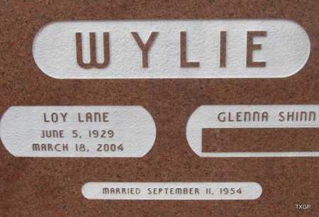 WYLIE, LOY LANE - Hale County, Texas   LOY LANE WYLIE - Texas Gravestone Photos