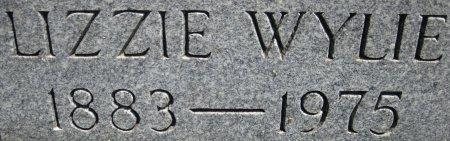 WYLIE, LIZZIE (CLOSEUP) - Hale County, Texas | LIZZIE (CLOSEUP) WYLIE - Texas Gravestone Photos