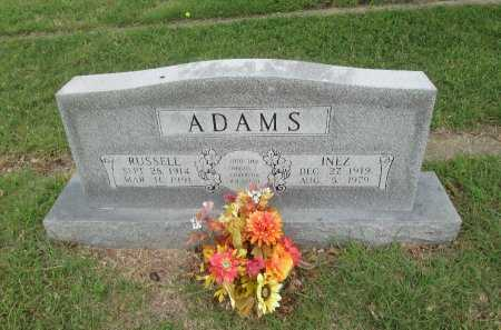 WHITAKER ADAMS, INEZ - Hamilton County, Texas | INEZ WHITAKER ADAMS - Texas Gravestone Photos