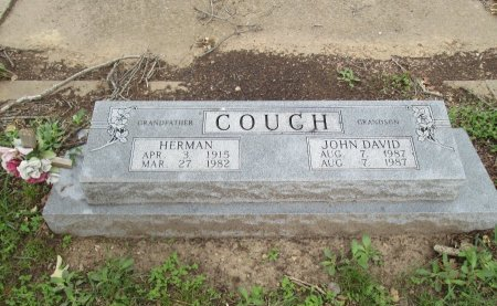 COUCH, JOHN DAVID - Hamilton County, Texas | JOHN DAVID COUCH - Texas Gravestone Photos