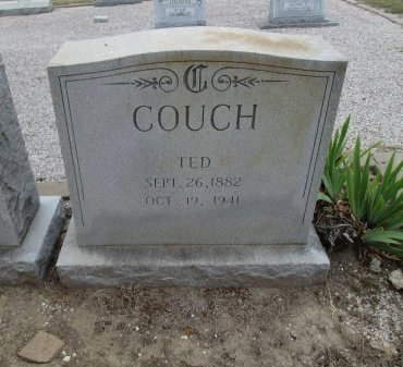 COUCH, TED - Hamilton County, Texas | TED COUCH - Texas Gravestone Photos