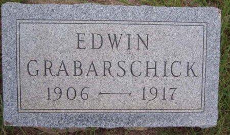 GRABARSCHICK, EDWIN - Hamilton County, Texas   EDWIN GRABARSCHICK - Texas Gravestone Photos
