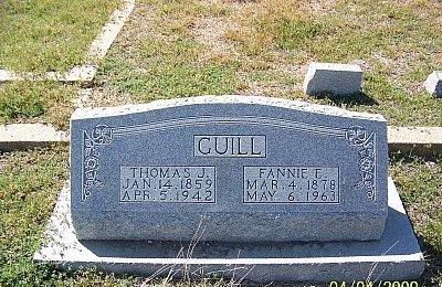 GUILL, FANNIE - Hamilton County, Texas | FANNIE GUILL - Texas Gravestone Photos