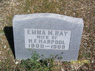 HARPOOL, EMMA NANCY - Hamilton County, Texas | EMMA NANCY HARPOOL - Texas Gravestone Photos