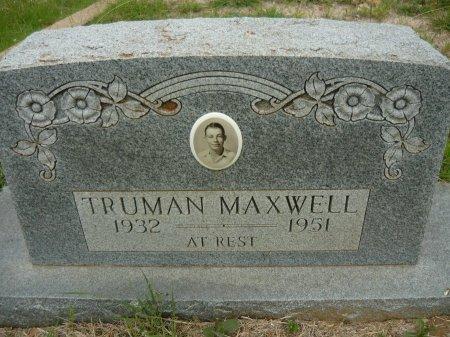 MAXWELL, TRUMAN - Hamilton County, Texas   TRUMAN MAXWELL - Texas Gravestone Photos