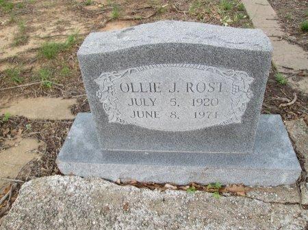 ROST, OLLIE J. - Hamilton County, Texas | OLLIE J. ROST - Texas Gravestone Photos