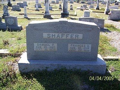 SHAFFER, FRANCES QUEEN - Hamilton County, Texas   FRANCES QUEEN SHAFFER - Texas Gravestone Photos
