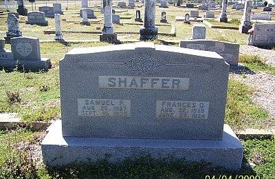 SHAFFER, SAMUEL P. - Hamilton County, Texas   SAMUEL P. SHAFFER - Texas Gravestone Photos