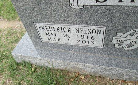 SHAVE, FREDERICK NELSON (CLOSEUP) - Hamilton County, Texas | FREDERICK NELSON (CLOSEUP) SHAVE - Texas Gravestone Photos