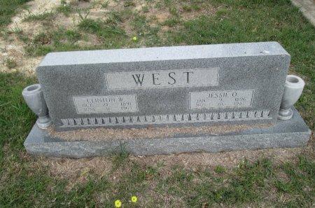 WEST, JESSIE O. - Hamilton County, Texas | JESSIE O. WEST - Texas Gravestone Photos