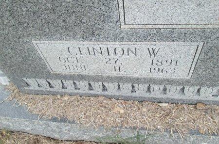WEST, CLINTON (CLOSEUP) - Hamilton County, Texas | CLINTON (CLOSEUP) WEST - Texas Gravestone Photos