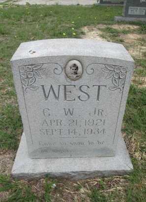 WEST, G. W. - Hamilton County, Texas | G. W. WEST - Texas Gravestone Photos