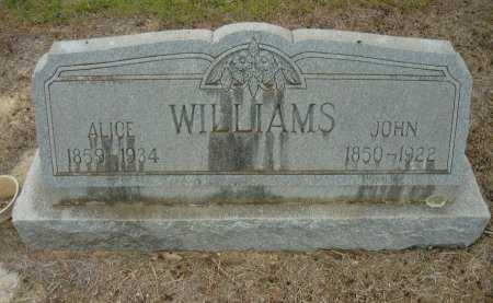 WILLIAMS, JOHN - Hamilton County, Texas | JOHN WILLIAMS - Texas Gravestone Photos