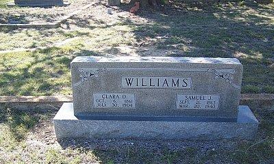 WILLIAMS, SAMUEL JACKSON - Hamilton County, Texas | SAMUEL JACKSON WILLIAMS - Texas Gravestone Photos