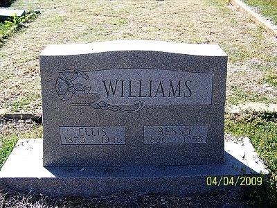 WILLIAMS, DANIEL ELLIS - Hamilton County, Texas | DANIEL ELLIS WILLIAMS - Texas Gravestone Photos