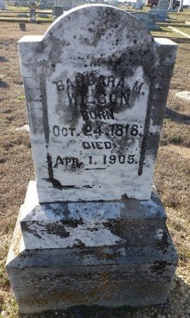 WILSON, BARBARA M. - Hamilton County, Texas | BARBARA M. WILSON - Texas Gravestone Photos