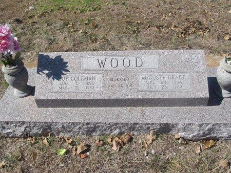 WOOD, MINNIE  AGUSTA GRACE - Hamilton County, Texas | MINNIE  AGUSTA GRACE WOOD - Texas Gravestone Photos