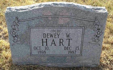 HART, DEWEY W. - Hansford County, Texas | DEWEY W. HART - Texas Gravestone Photos