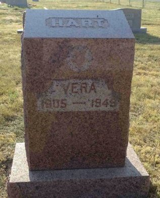 HART, VERA - Hansford County, Texas | VERA HART - Texas Gravestone Photos