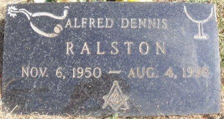 RALSTON, ALFRED DENNIS - Hansford County, Texas | ALFRED DENNIS RALSTON - Texas Gravestone Photos