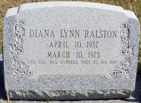 RALSTON, DIANA LYNN - Hansford County, Texas | DIANA LYNN RALSTON - Texas Gravestone Photos