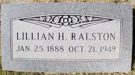 RALSTON, LILLIAN - Hansford County, Texas   LILLIAN RALSTON - Texas Gravestone Photos