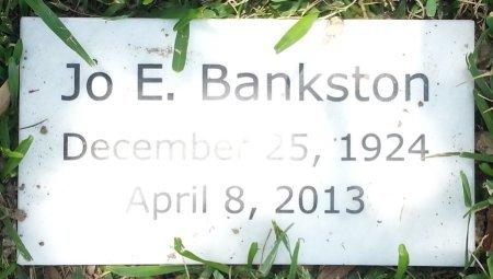 BANKSTON, JO EARLE - Harris County, Texas   JO EARLE BANKSTON - Texas Gravestone Photos