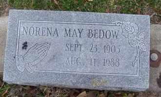 BEDOW, NORENA MAY - Harris County, Texas   NORENA MAY BEDOW - Texas Gravestone Photos