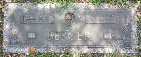 BERGER, DONALD MORRIS - Harris County, Texas   DONALD MORRIS BERGER - Texas Gravestone Photos