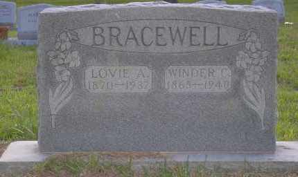 BRACEWELL, WINDER C - Harris County, Texas | WINDER C BRACEWELL - Texas Gravestone Photos