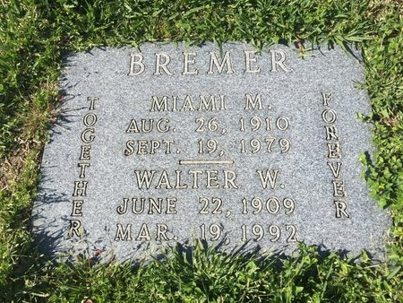 LEBLANC BREMER, MIAMI MARY - Harris County, Texas | MIAMI MARY LEBLANC BREMER - Texas Gravestone Photos