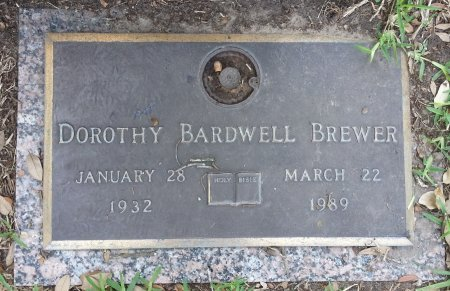 BREWER, DOROTHY - Harris County, Texas | DOROTHY BREWER - Texas Gravestone Photos