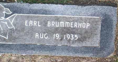 BRUMMERHOP, EARL - Harris County, Texas | EARL BRUMMERHOP - Texas Gravestone Photos